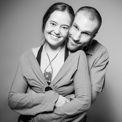 A photo of Rob and Anna